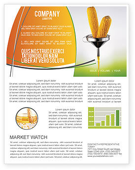 Corn Oil Newsletter Template