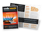 Careers/Industry: Gas Stove Brochure Template #03675