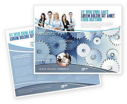 Business Concepts: Details Brochure Template #03677