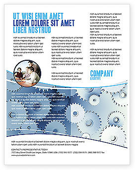 Business Concepts: Details Flyer Template #03677
