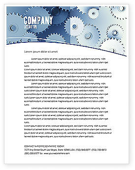 Business Concepts: Details Letterhead Template #03677