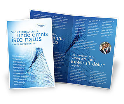 office center brochure template design and layout download now