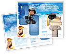 Education & Training: University Education Brochure Template #03680