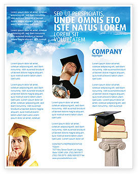 Education & Training: University Education Flyer Template #03680