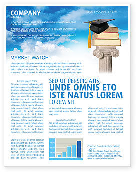Education & Training: University Education Newsletter Template #03680