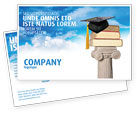 Education & Training: University Education Postcard Template #03680