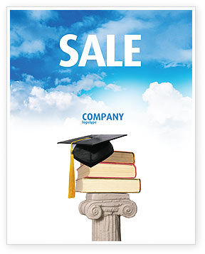 University Education Sale Poster Template, 03680, Education & Training — PoweredTemplate.com