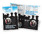 Education & Training: Graduates Brochure Template #03685