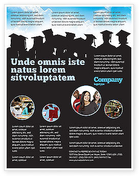 Education & Training: Graduates Flyer Template #03685