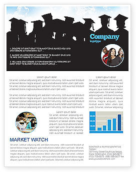 Education & Training: Graduates Newsletter Template #03685