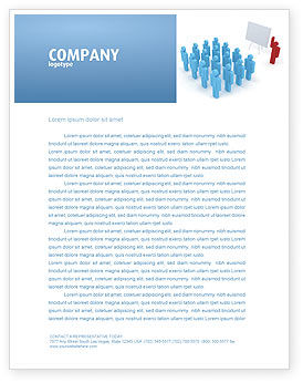Public Meeting Letterhead Template, 03687, Education & Training — PoweredTemplate.com