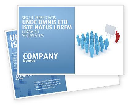 Public Meeting Postcard Template, 03687, Education & Training — PoweredTemplate.com