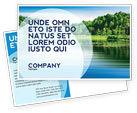Nature & Environment: Landscape Postcard Template #03688