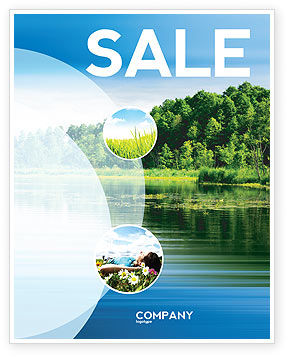 Landscape Sale Poster Template, 03688, Nature & Environment — PoweredTemplate.com