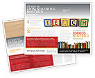 Education & Training: Teaching Brochure Template #03696