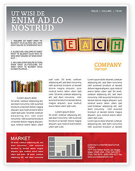 Teaching Newsletter Template