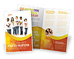 People: Flowers of Life Brochure Template #03699