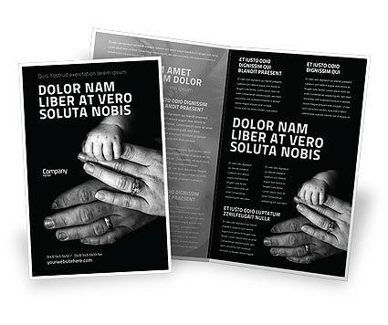 Religious/Spiritual: Family Bonds Brochure Template #03701