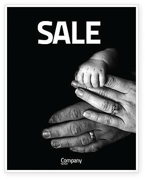 Religious/Spiritual: Plantilla de póster - lazos familiares #03701