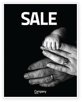 Religious/Spiritual: Family Bonds Sale Poster Template #03701