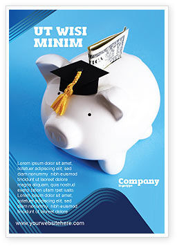 Financial/Accounting: Education Costs Ad Template #03703