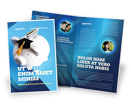 Education Costs Brochure Template