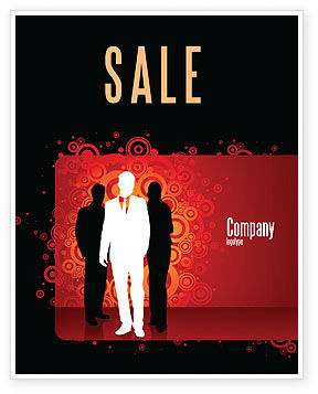 Business: Stylish Look Sale Poster Template #03704