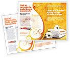 Careers/Industry: Bath Towels Brochure Template #03713