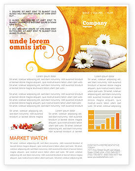 Bath Towels Newsletter Template