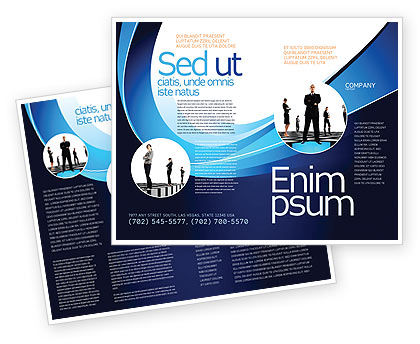 Leadership program brochure template design and layout for Program brochure templates