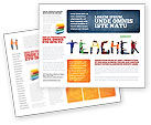 Education & Training: Teacher of Class Brochure Template #03723