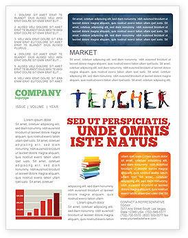 Education & Training: Teacher of Class Newsletter Template #03723