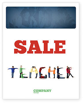 Education & Training: Teacher of Class Sale Poster Template #03723