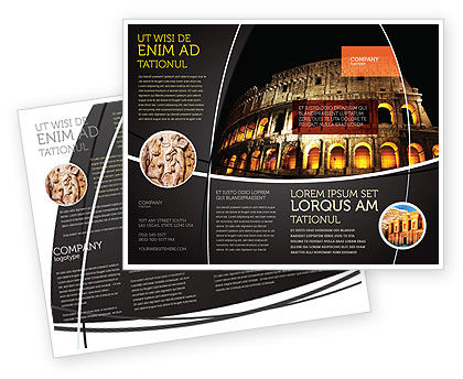 Construction: Coliseum Brochure Template #03724