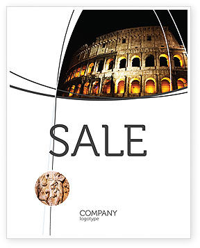 Construction: Coliseum Sale Poster Template #03724