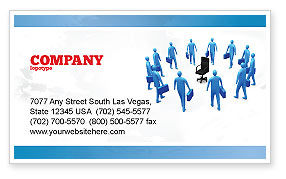 Business: Leader Seat Business Card Template #03726