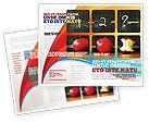 Education & Training: Modello Brochure - Aritmetica a scuola #03728