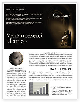 Solitariness Newsletter Template