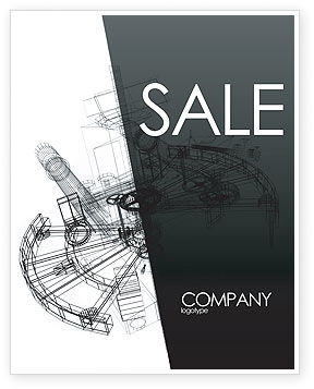 Construction: Construction Sketch Sale Poster Template #03740