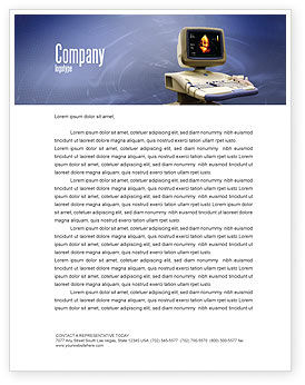 Medical: Ultrasound Letterhead Template #03741