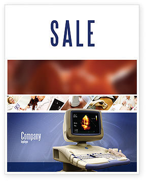 Ultrasound Sale Poster Template