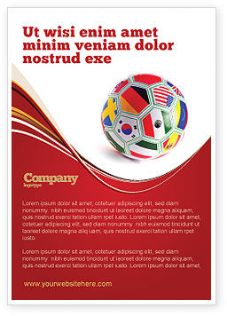 Sports: World Cup Advertentie Template #03743