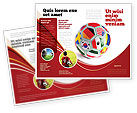 Sports: Modello Brochure - Coppa del mondo #03743