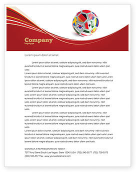 World Cup Letterhead Template
