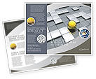 Business Concepts: Yellow Ball Brochure Template #03747