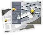 Business Concepts: 黄球宣传册模板 #03747