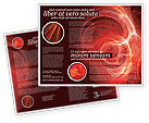 Abstract/Textures: Red Fantasy Brochure Template #03749