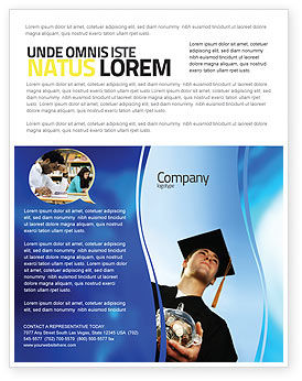 Paid Education Flyer Template