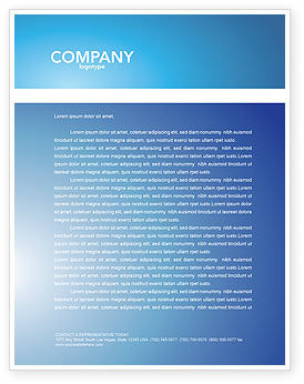 Medical: Bacillus Letterhead Template #03757