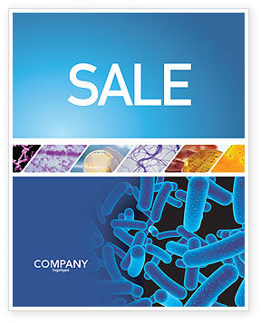 Medical: Bacillus Sale Poster Template #03757